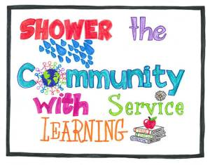 Shower the Community with Service Learning