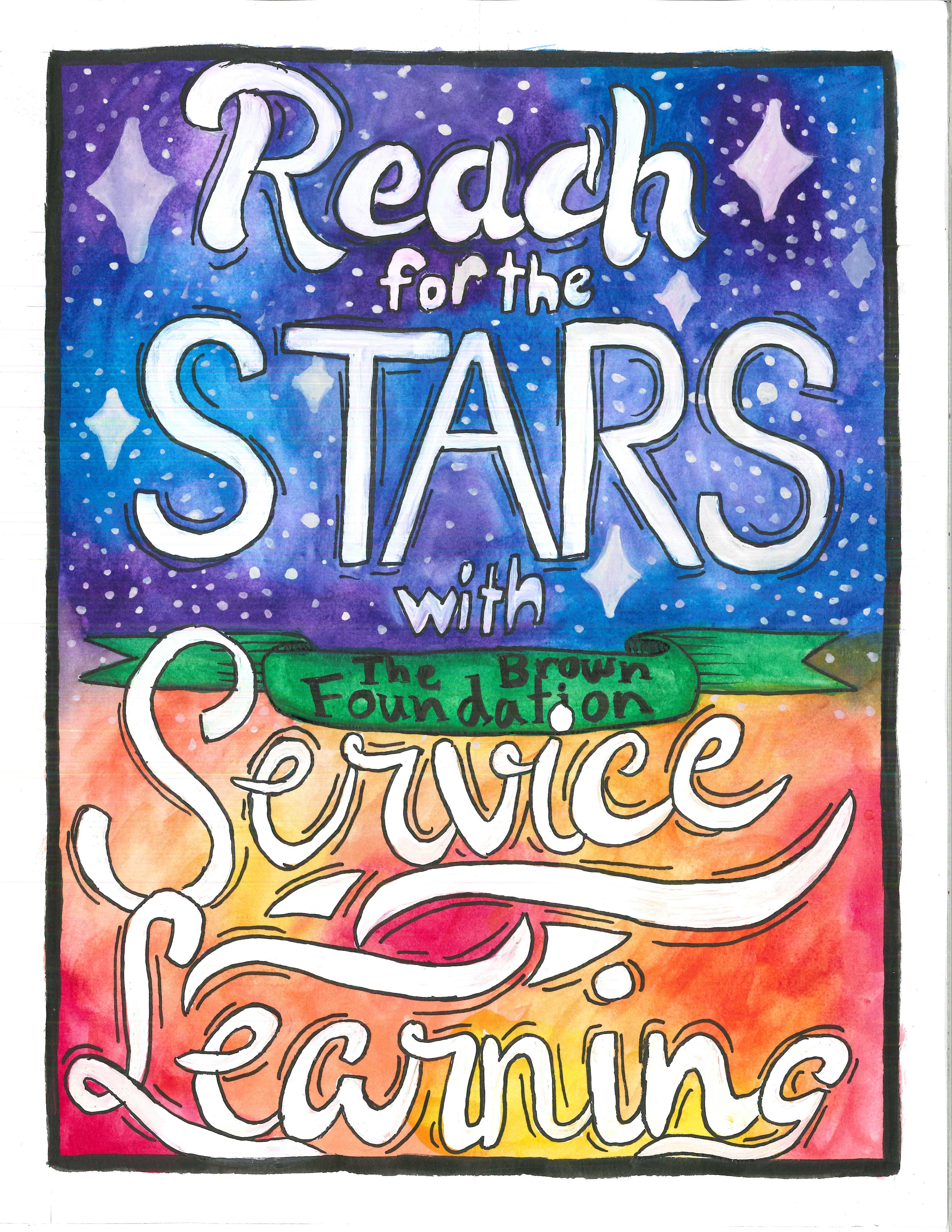 Reach to the stars with Service Learning