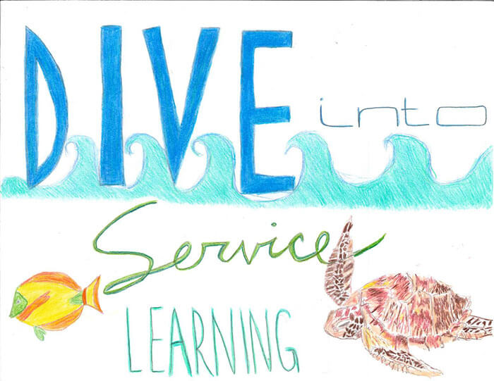 Dive into Service Learning
