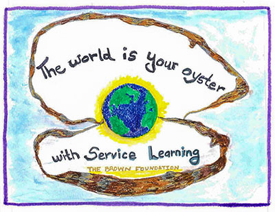 The world is your oyster with Service Learning